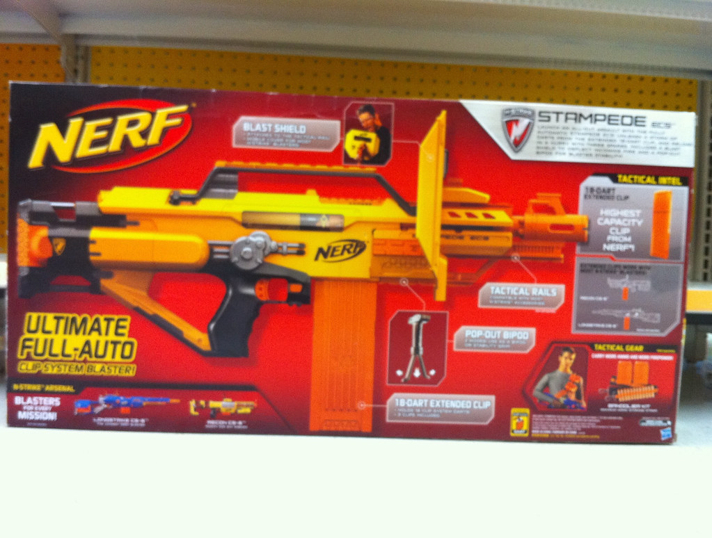 ... NERF N-Strike Stampede ECS-50 | by starstreak007