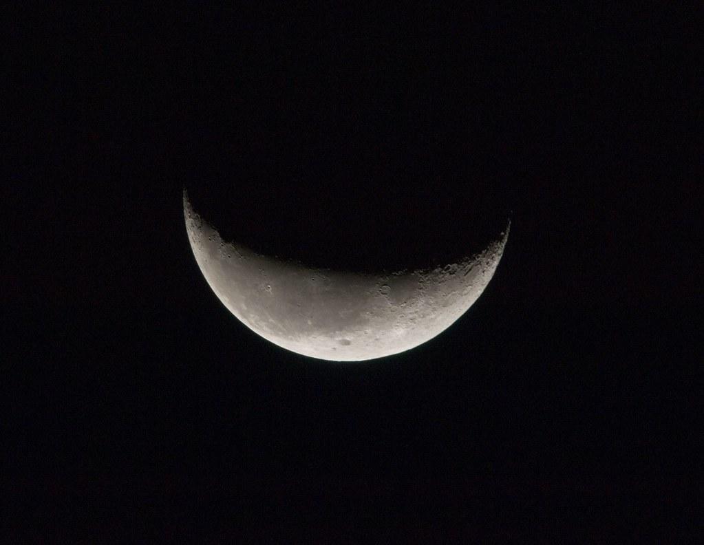 Crescent Moon (NASA, International Space Station Science ...