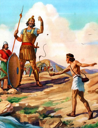 David and Goliath by Robert Temple Ayres | by Fried Dough