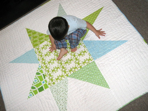 Giant Wonky Star Quilt | by SewLaTea