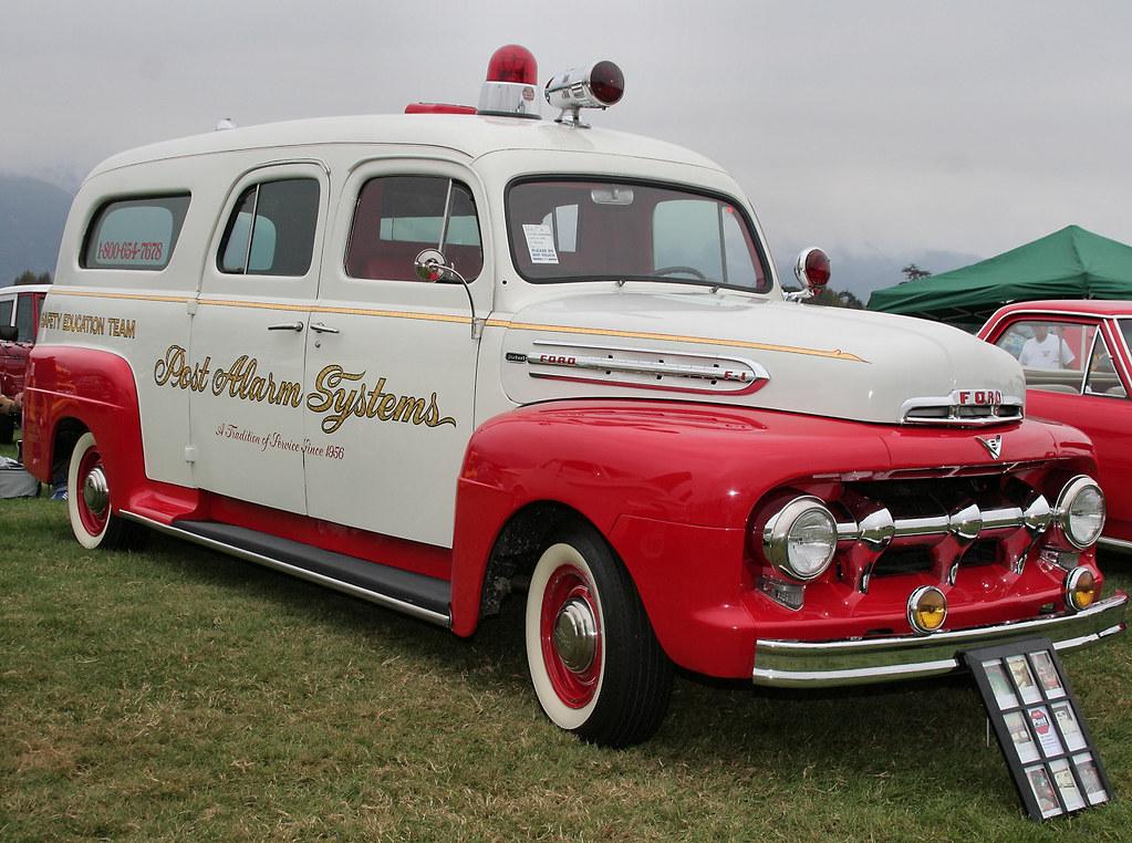 1951 Ford - Siebert Ambulance - fvr | Rex Gray | Flickr