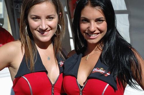 Nascar Ford Racing Girls | Nascar Nationwide Weekend 2010