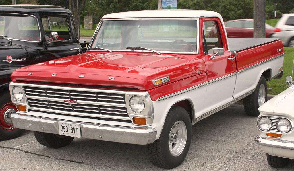 1968 Ford Ranger Styleside Pickup Richard Spiegelman Flickr