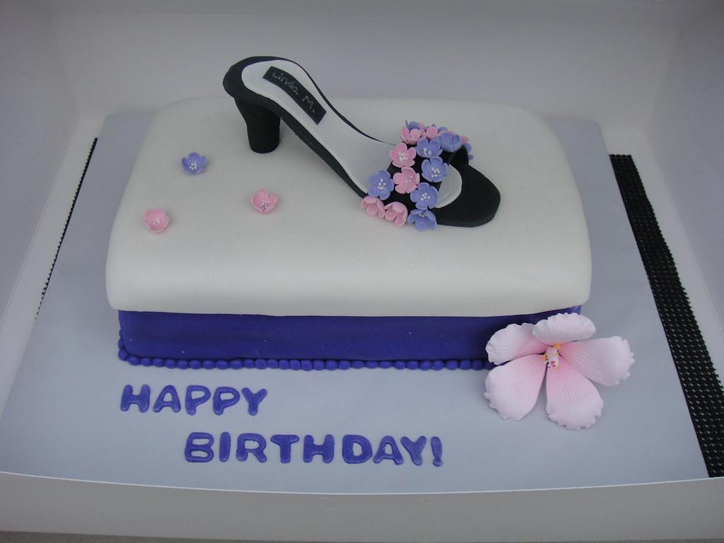 Shoe Birthday Cake Kali Flickr