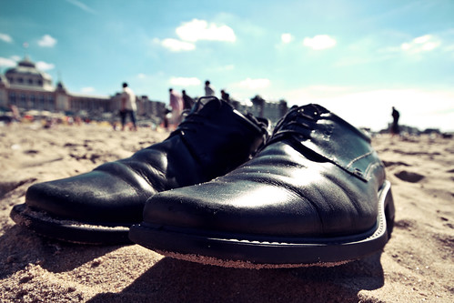 Shoes at the Beach | by kirberich