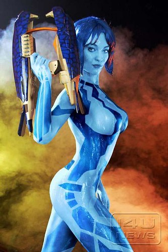 Are not hot cortana cosplay