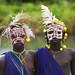 Surma kids with decoration - Kibish Ethiopia