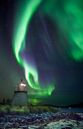 The light and the lighthouse | by Ole C. Salomonsen
