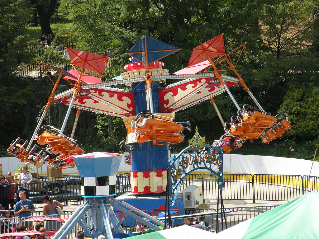 Ride At Victorian Gardens Central Park Gotham City Lost And Found Flickr