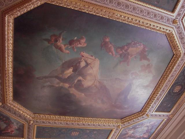 Chambre de la reine cette pi ce fut la chambre coucher for Chambre de la reine