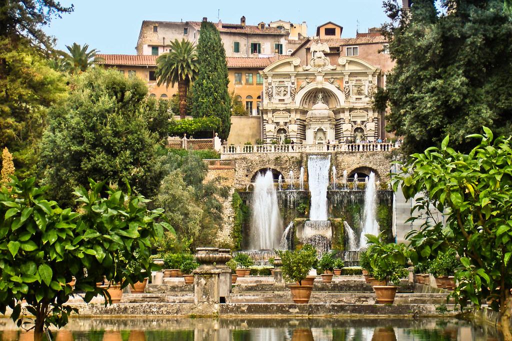 Tivoli (Rome), Villa d'Este