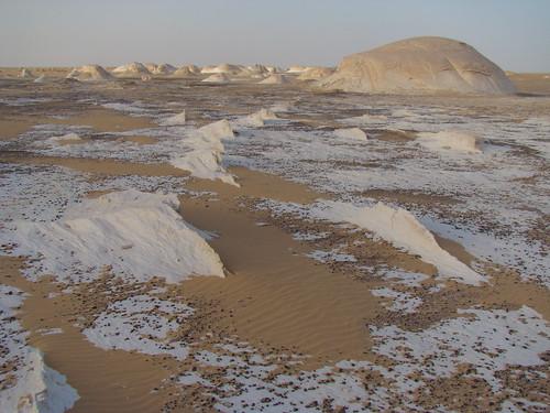 Crestas eólicas - White Desert (Egipto) - 04