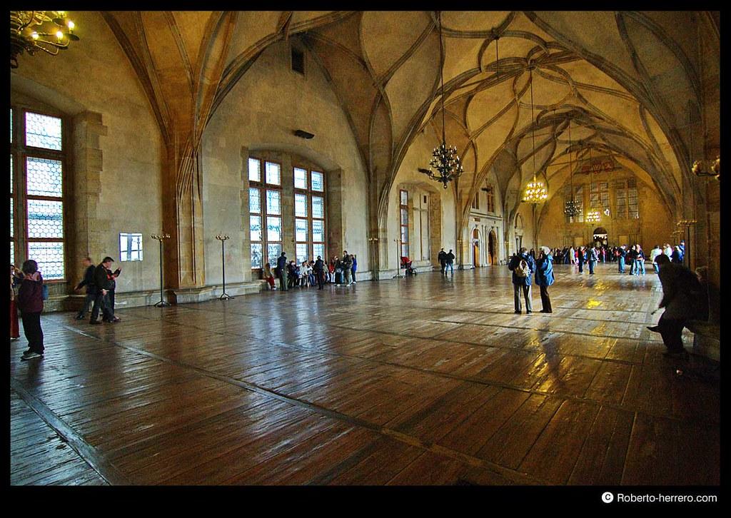 Old royal palace interior prague castle czech republic - Roberto herrero ...