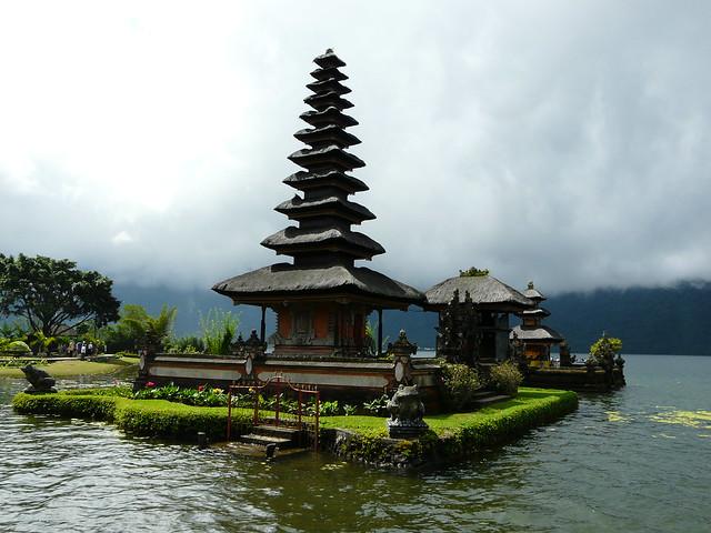 Templo del Lago Bratan (Bali, Indonesia)