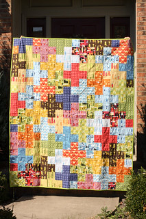Castle Peeps Plus Quilt - Front | by Jeni Baker | In Color Order