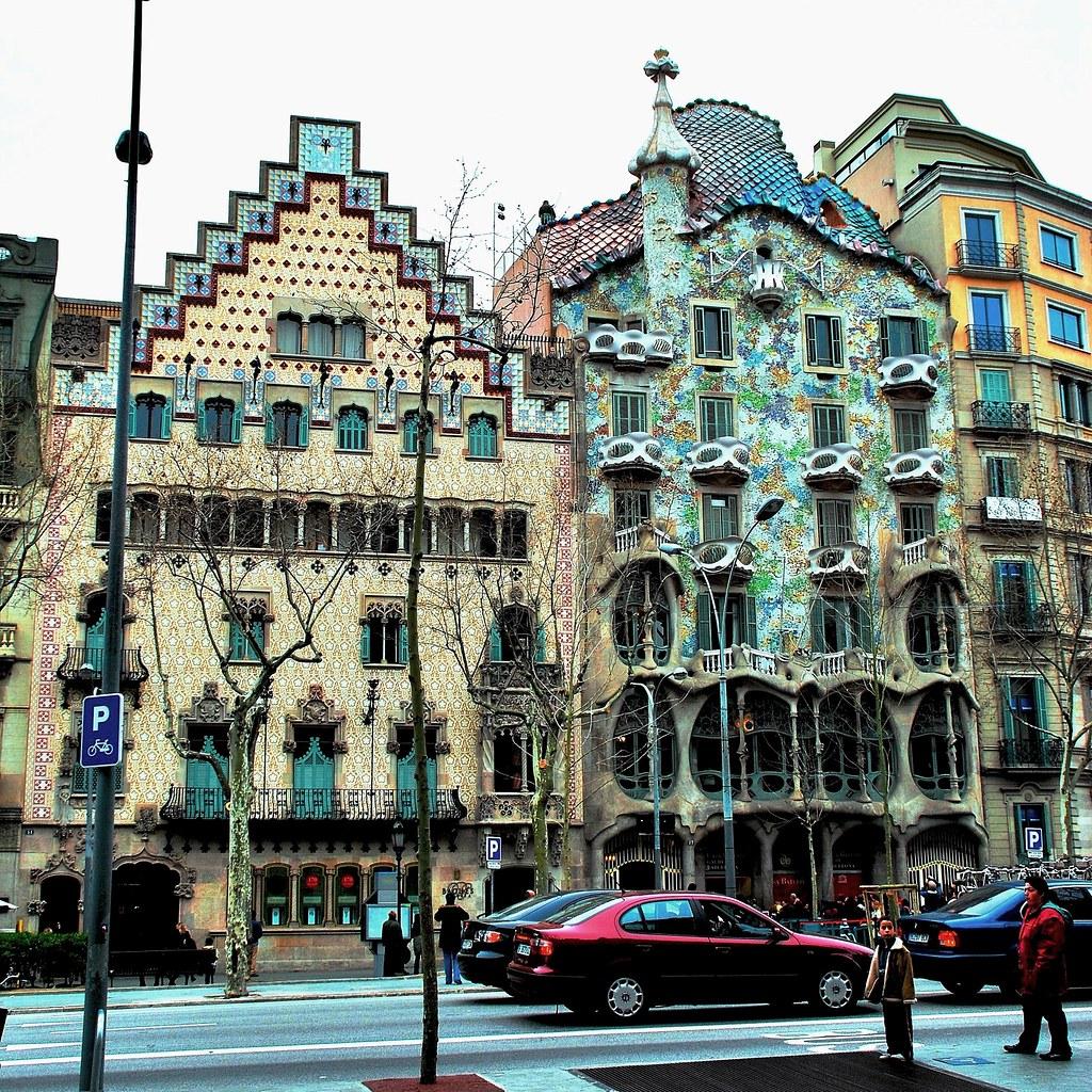 00 casa amatller y casa batll barcelona 653 flickriver - Casa de madrid en barcelona ...