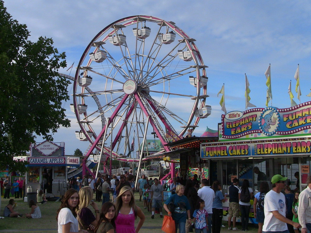 Ferris Wheel at Benton County Fair | CompareFord | Flickr