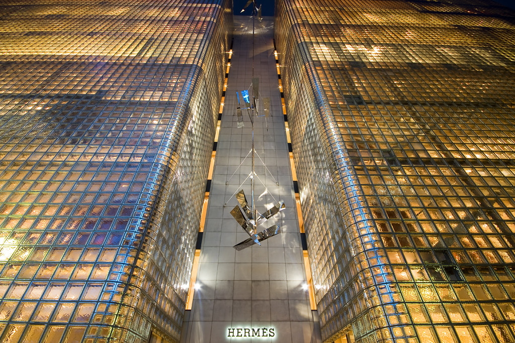 Tokyo Ginza Hermes From Galinsky Com The Building Is