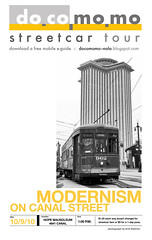 Modernism on Canal: A Streetcar Tour of Endangered Buildings