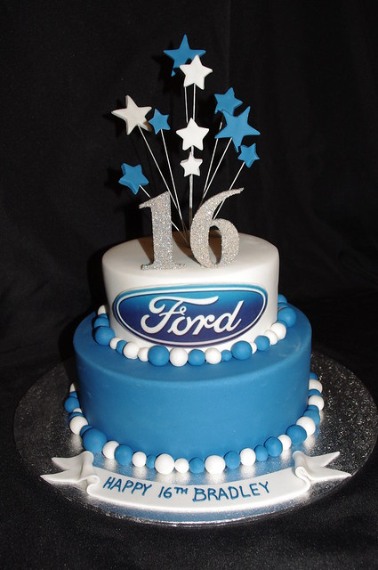 Ford 16th Cake Flickr Photo Sharing