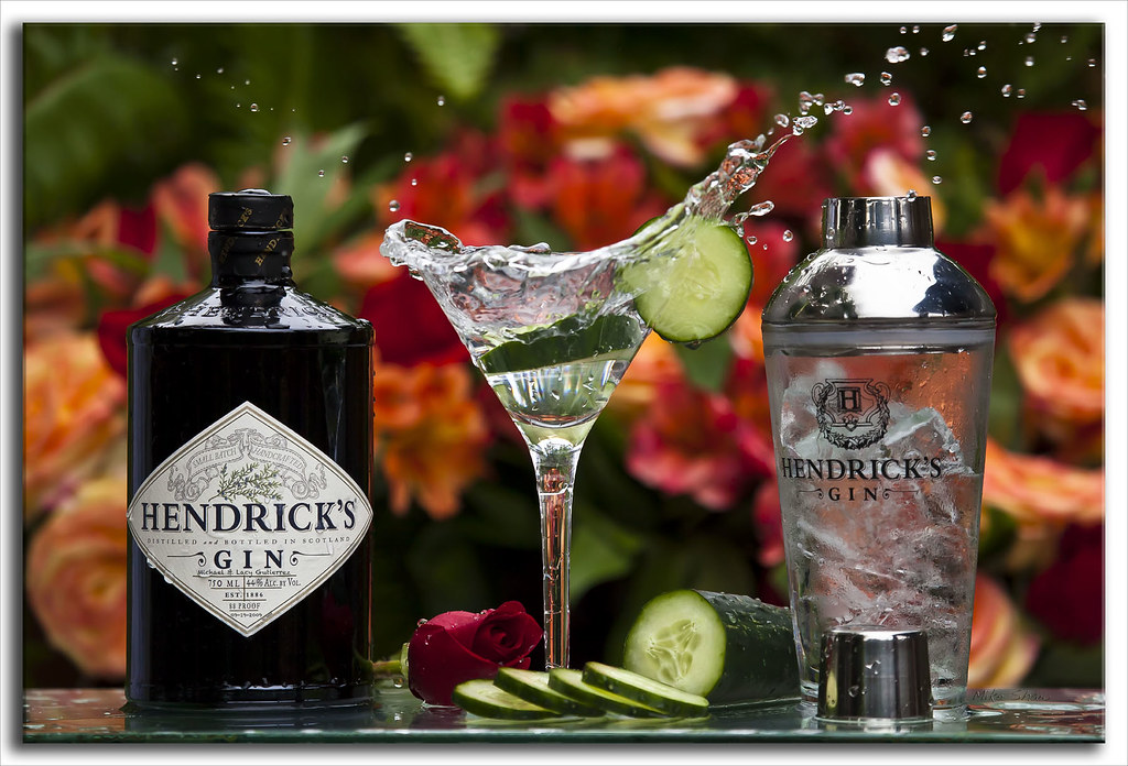 Hendrick S Gin Martini Earlier This Year I Toyed Around
