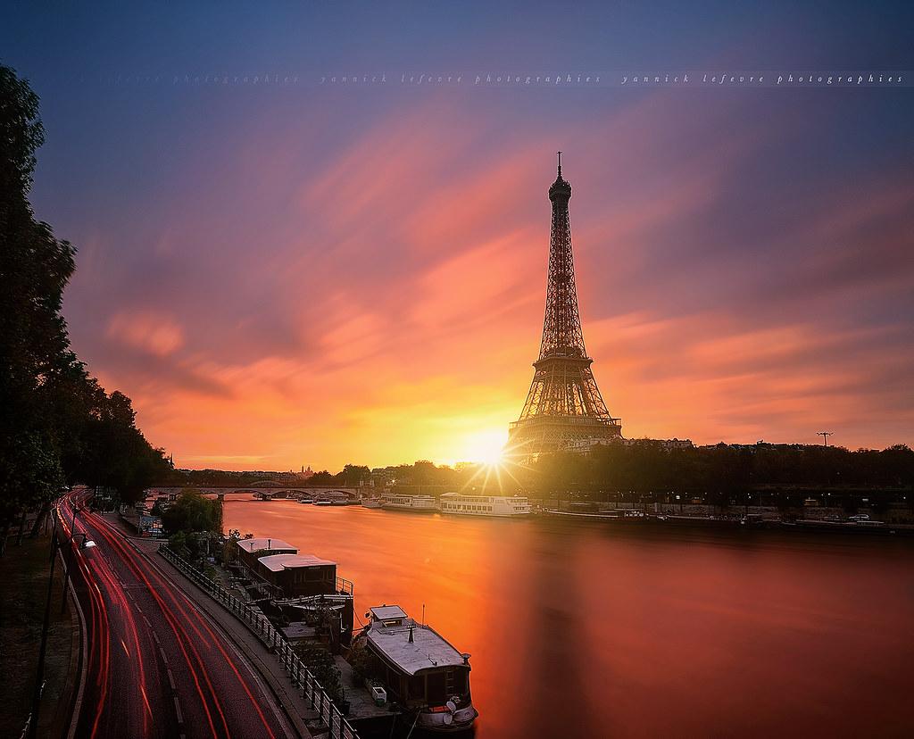 Explore Sunrise To Eiffel Tower Paris France Flickr