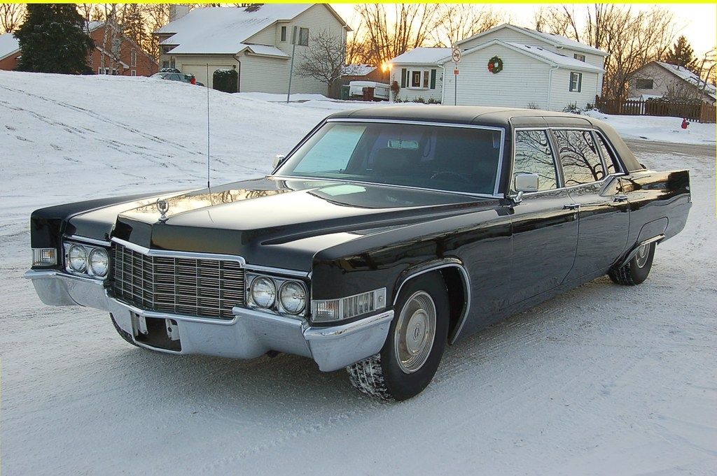 1969 Cadillac Fleetwood 75 1970 Lincoln Continental Flickr