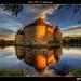 Örebro Slott vid Skymningen
