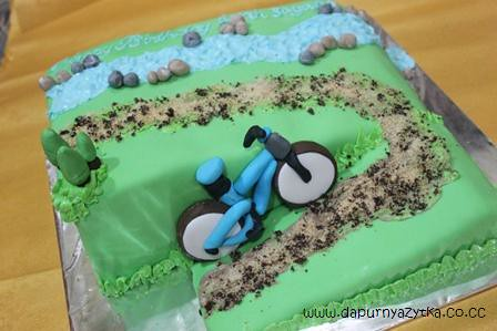 Road Bike Cake Decoration : mountain bike cake dee Flickr
