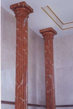 Columnas imitaci n marmol columnas de imitaci n a m rmol - Columna de marmol ...