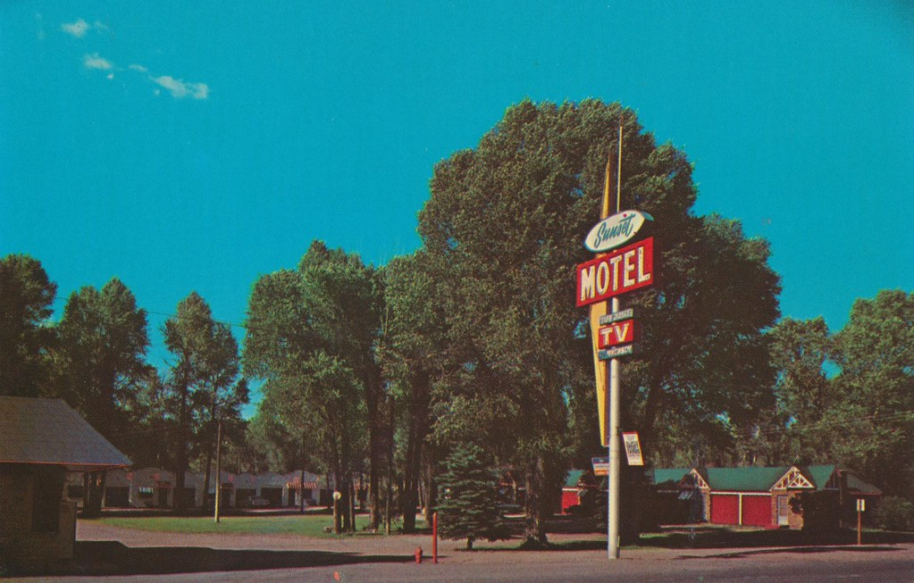 Sunset Motel - Evanston, Wyoming