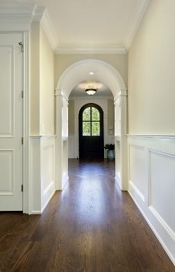 wainscoting-in-hallway | THIS IS MY INSPIRATION SET PLEASE ...