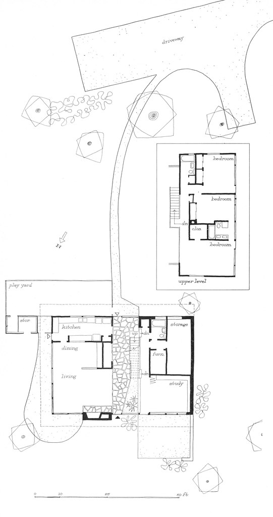 Butterfly Roof House Plan Designed By Leon Brown And