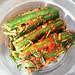 Elizabeth's oisobagi (spicy stuffed cucumber kimchi)