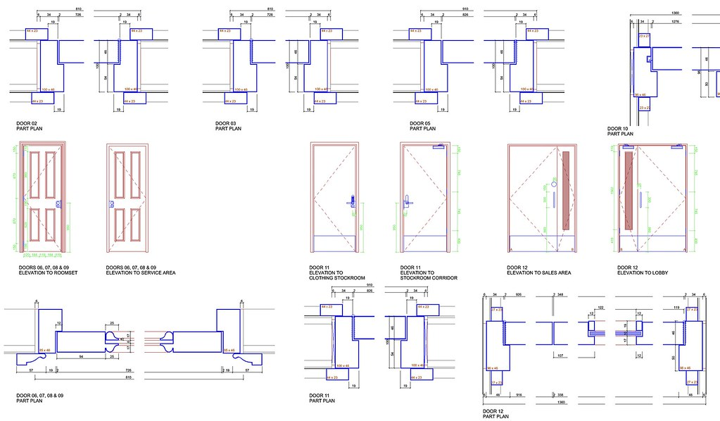 ... Door Construction Details | by john.warburton  sc 1 st  Flickr & Door Construction Details | www.pixelorchard.com | John Warburton ...