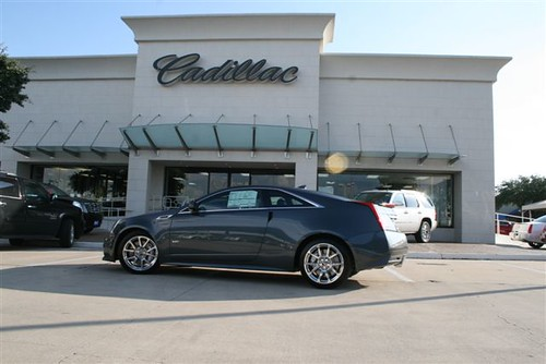 Come See the 2011 Cadillac CTSV Coupe James Wood AutoPark ...