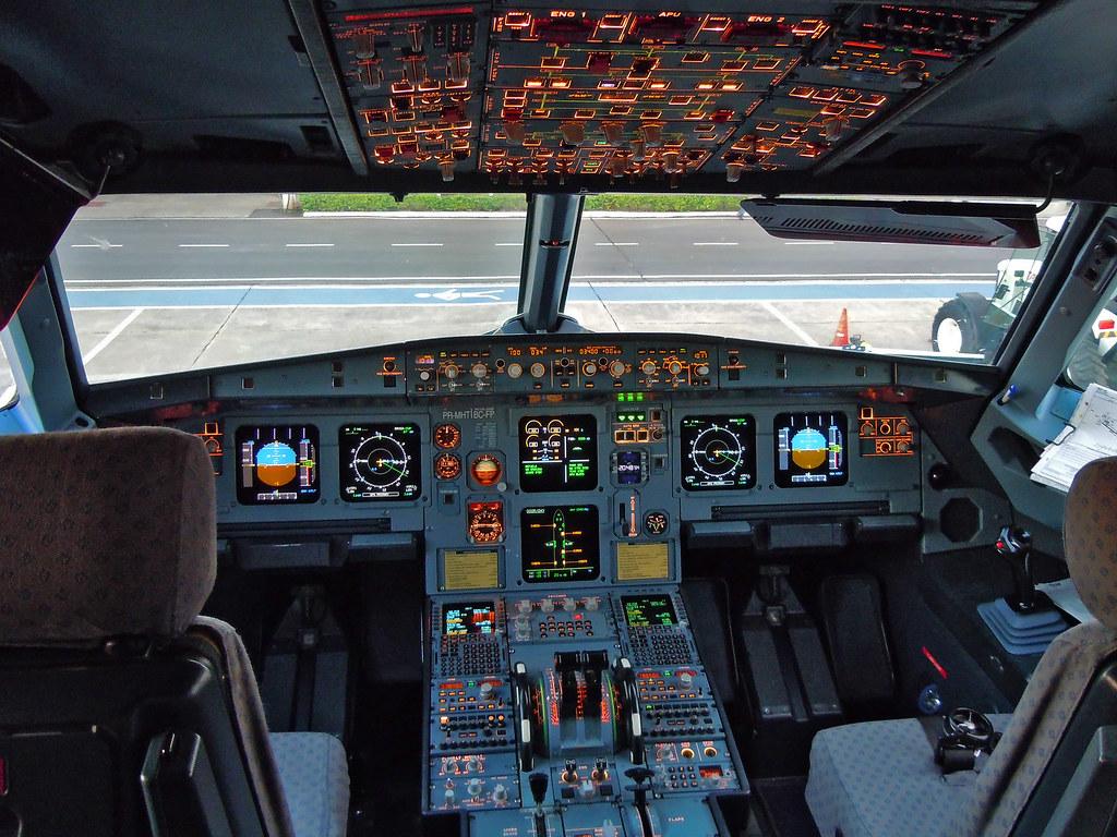 Airbus A320 Cockpit panels