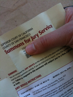 Irrefutable Proof (of jury duty) | by hizknits