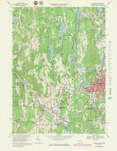 Webster Quadrangle 1979 - USGS Topographic Map 1:25,000 | by uconnlibrariesmagic