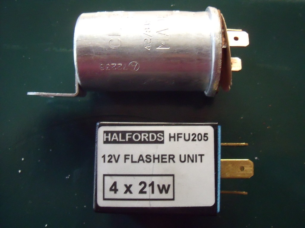 5 Pin Relay Halfords Switch Original Flasher New Citroen Gs Flickr