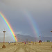 Burning Man 2010 Double Rainbow