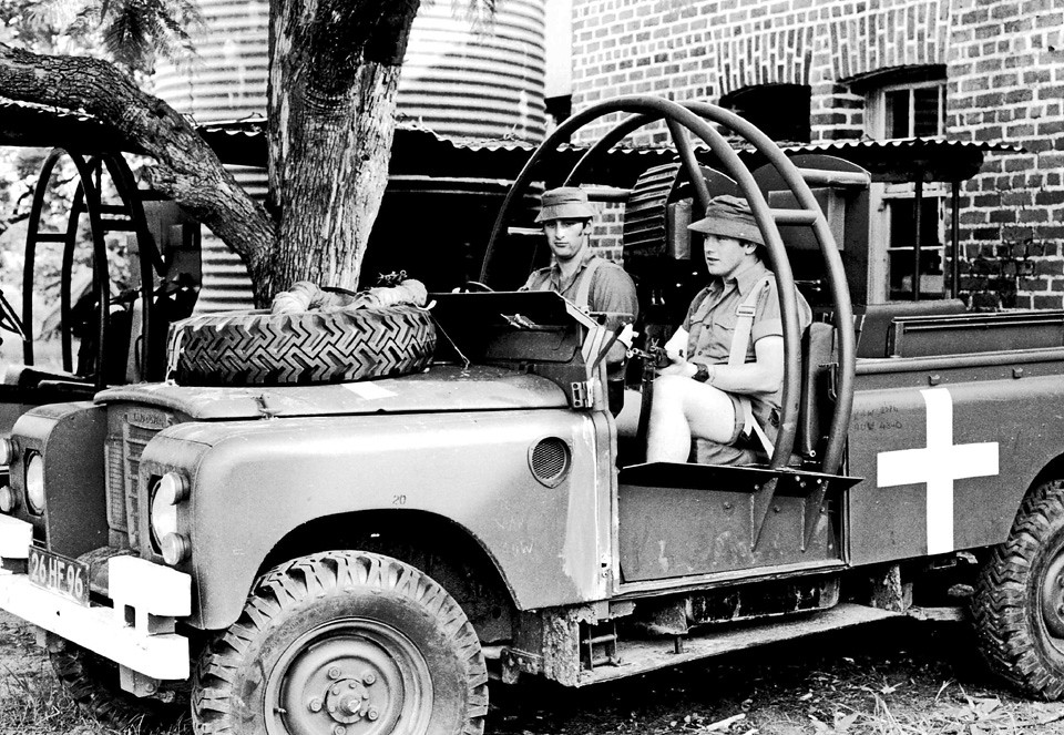 White Land Rover >> Land Rover Mine Proofed Op AGILA Zimbabwe-Rhodesia 1980 | Flickr