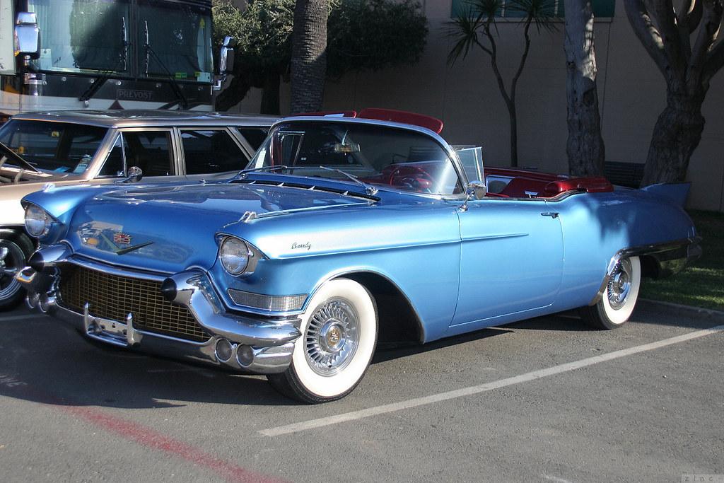 1957 Cadillac Series 62 Eldorado Biarritz 2d cnv - blue ...