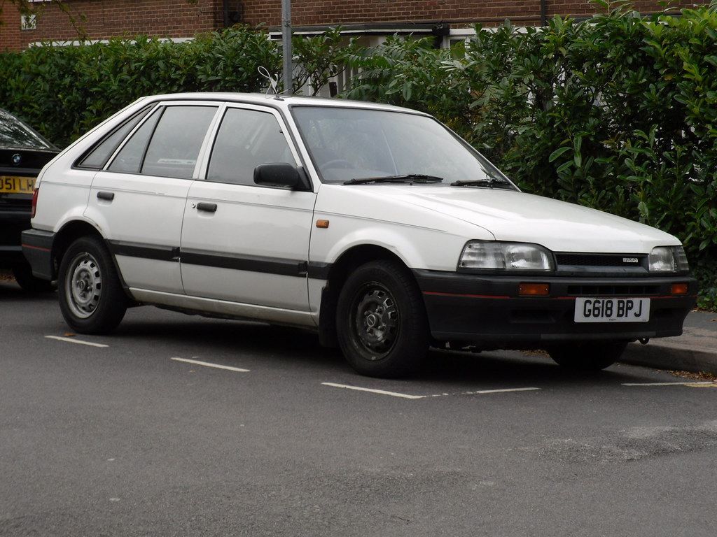 1989 Mazda 323 1 3 Javelin Hatchback These 323s Appear