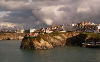 Storm clouds over Newquay | by Ennor