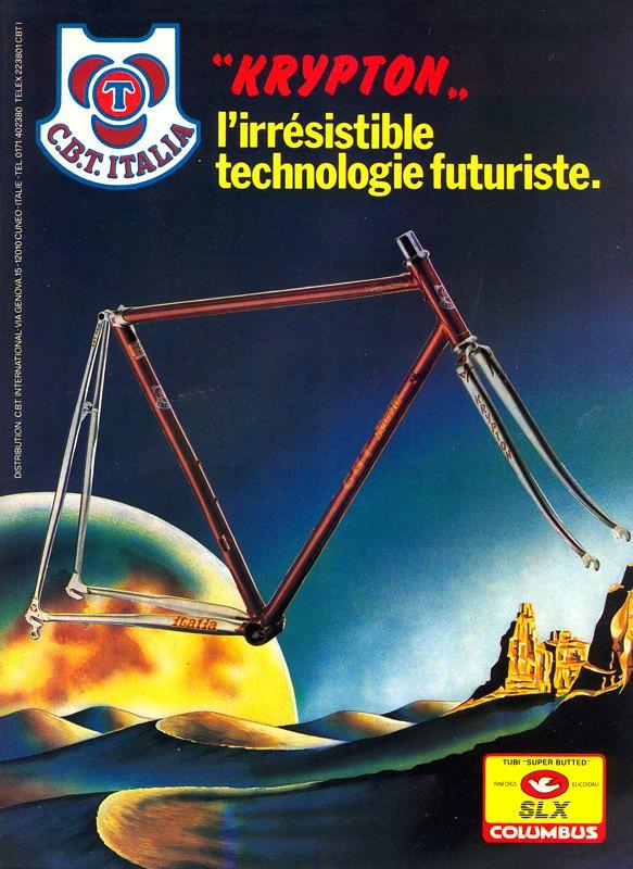 Cbt krypton miroir du cyclisme magazine june 1987 for Miroir 3 pans