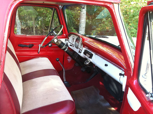 1961 F100 Interior My New Truck Chris Bartlett Flickr