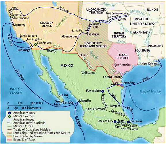 westward expansionism as the reason for the mexican war Manifest destiny  so rapid and dramatic was the process of territorial expansion  which had abolished slavery in its west indies colonial possessions in 1833.