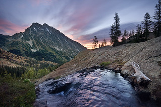 Sunrise, Mount Stuart, Wenatchee National Forest | by Tyler Westcott