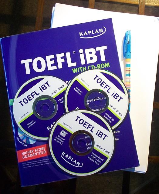 dicas para o teste do TOEFL